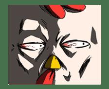 Super Dramatic Chicken (Animated) sticker #14917257