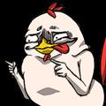 Super Dramatic Chicken (Animated)