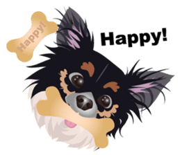 Cute Chihuahua stickers cheer you up! sticker #14922007