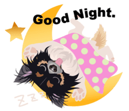 Cute Chihuahua stickers cheer you up! sticker #14922023