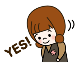 Cute! jane's daily stickers(global) sticker #14928489