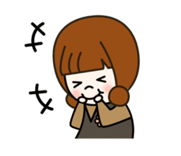 Cute! jane's daily stickers(global) sticker #14928494