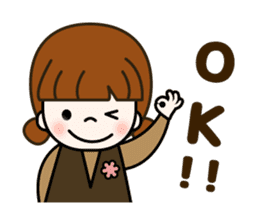 Cute! jane's daily stickers(global) sticker #14928495