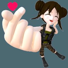 Soldier Girl Ver.1