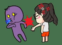 Annoying-est Girl Ever sticker #14953630
