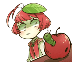 Fruit kids!2nd!! sticker #14956217