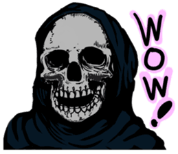 Death grimreaper Sticker sticker #14960343
