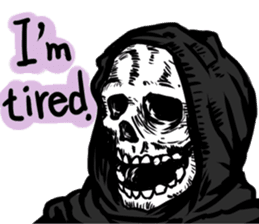 Death grimreaper Sticker sticker #14960362