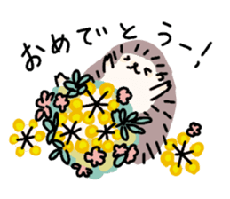 Rough Hedgehog stickers sticker #14961064