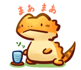 Beardie sticker sticker #14967928