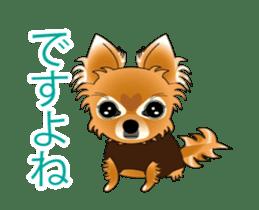 Pupu of Chihuahuas sticker #14974039