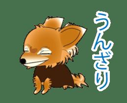 Pupu of Chihuahuas sticker #14974040