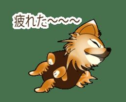 Pupu of Chihuahuas sticker #14974045