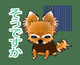 Pupu of Chihuahuas sticker #14974055