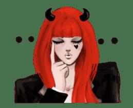 REA (Reddevil girl) animation no.2 #NEW sticker #14974177