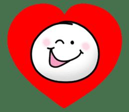 "Om Yim ""LOVE LOVE"" sticker #14987038"