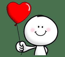 "Om Yim ""LOVE LOVE"" sticker #14987040"