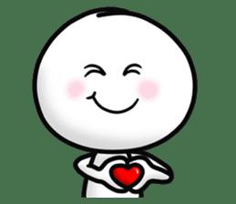 "Om Yim ""LOVE LOVE"" sticker #14987044"