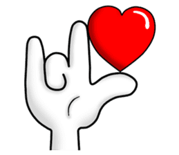 "Om Yim ""LOVE LOVE"" sticker #14987047"