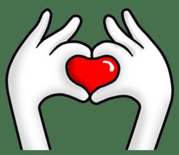 "Om Yim ""LOVE LOVE"" sticker #14987048"