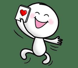"Om Yim ""LOVE LOVE"" sticker #14987052"