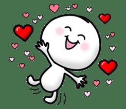 "Om Yim ""LOVE LOVE"" sticker #14987053"