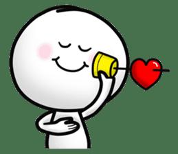 "Om Yim ""LOVE LOVE"" sticker #14987056"