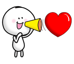 "Om Yim ""LOVE LOVE"" sticker #14987059"