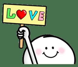 "Om Yim ""LOVE LOVE"" sticker #14987061"