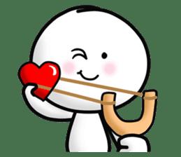 "Om Yim ""LOVE LOVE"" sticker #14987062"