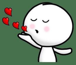 "Om Yim ""LOVE LOVE"" sticker #14987063"