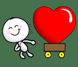 "Om Yim ""LOVE LOVE"" sticker #14987065"
