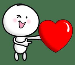 "Om Yim ""LOVE LOVE"" sticker #14987066"