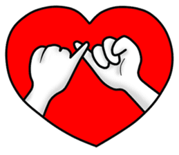 "Om Yim ""LOVE LOVE"" sticker #14987067"