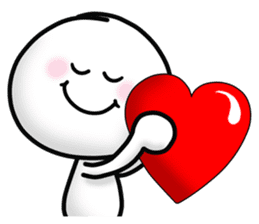 "Om Yim ""LOVE LOVE"" sticker #14987072"