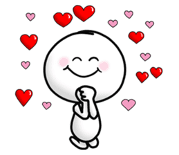 "Om Yim ""LOVE LOVE"" sticker #14987073"