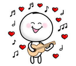 "Om Yim ""LOVE LOVE"" sticker #14987075"
