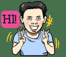 Teoteo Vietnamese Boy sticker #14987990