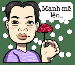 Teoteo Vietnamese Boy sticker #14987995