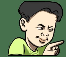 Teoteo Vietnamese Boy sticker #14988002