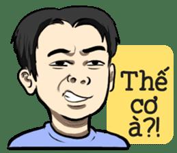 Teoteo Vietnamese Boy sticker #14988004