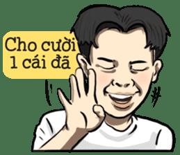 Teoteo Vietnamese Boy sticker #14988010
