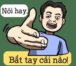 Teoteo Vietnamese Boy sticker #14988013