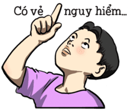 Teoteo Vietnamese Boy sticker #14988021