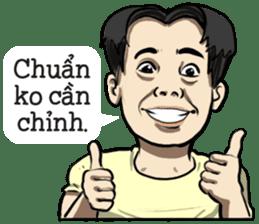 Teoteo Vietnamese Boy sticker #14988023