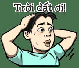 Teoteo Vietnamese Boy sticker #14988028