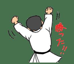 KARATEBUIN Mr.K sticker #14995099