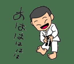 KARATEBUIN Mr.K sticker #14995100