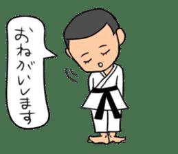 KARATEBUIN Mr.K sticker #14995106