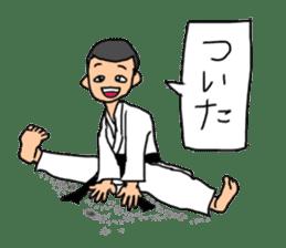 KARATEBUIN Mr.K sticker #14995112